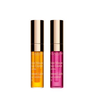 Lip Oil Duo – Honey and Raspberry 2.8ml