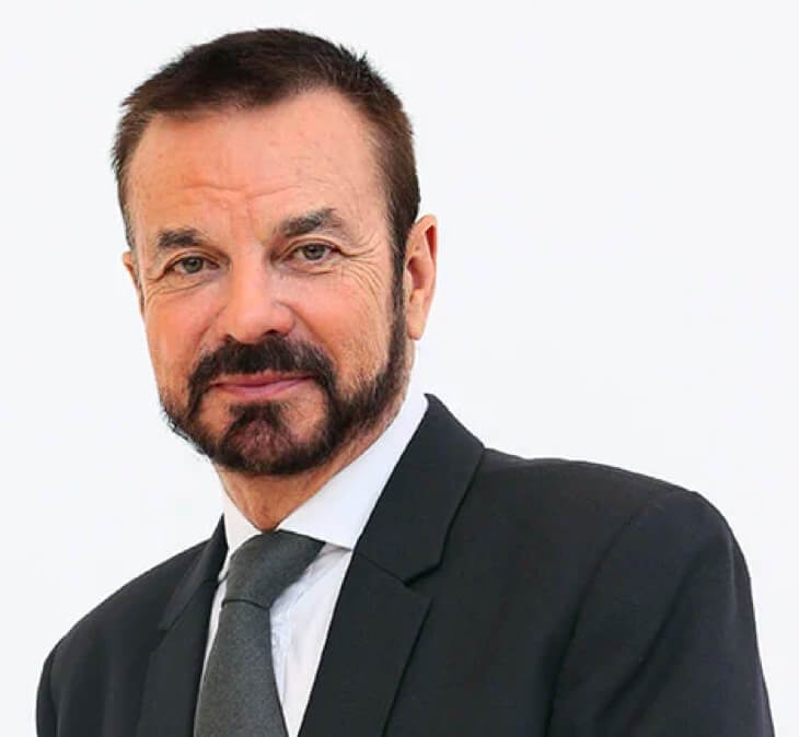 Dr Olivier Courtin-Clarins, Clarins Managing Director